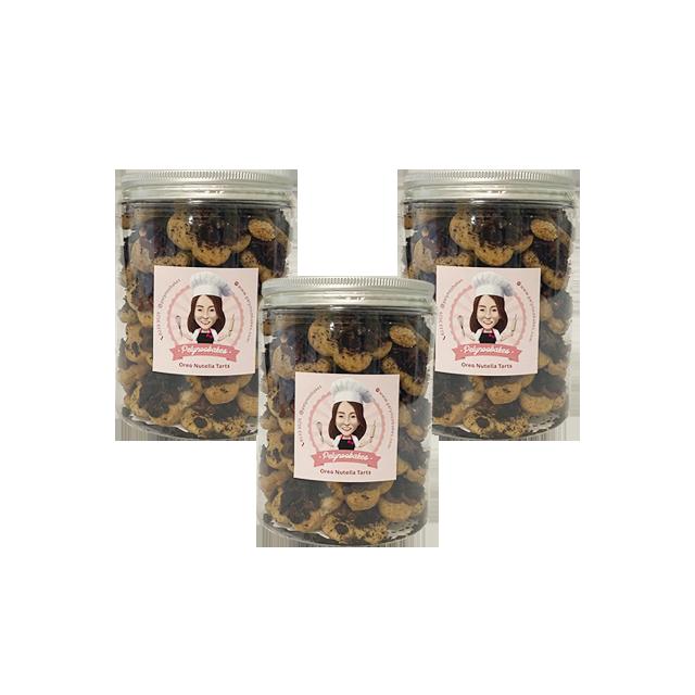 Oreo Nutella Tarts (Bundle of 3)