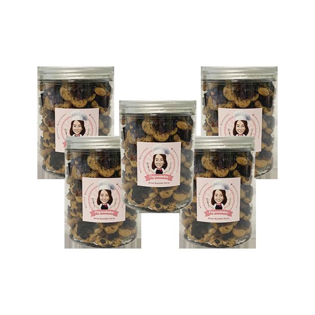 Oreo Nutella Tarts (Bundle of 5)