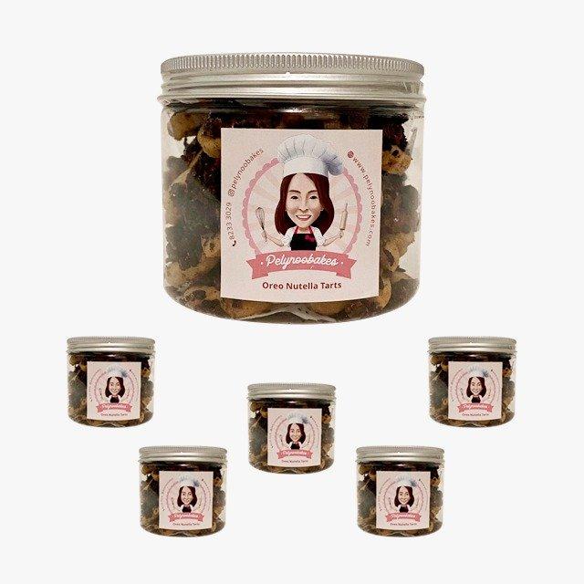 Oreo Nutella Tarts Mini (Bundle of 5)